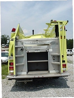FIRE TRUCK PARTS FOR SALE 2002 PIERCE QUANTUM PUMPER - FIRE TRUCK PARTS