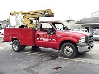 2005 FORD F350 XL BUCKET TRUCK USED FOR SALE
