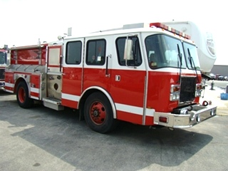 E-ONE FIRETRUCK - 2000 E-ONE PUMPER TRUCK FOR SALE