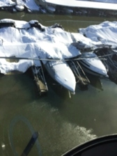 BOAT DAMAGE LAKE CUMBERLAND - B & B MARINE SERVICE BOAT TRANSPORTATION