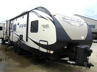 2016 FOREST RIVER STEALTH EVO 26FT 1-SLIDE TRAVEL TRAILER FOR SALE